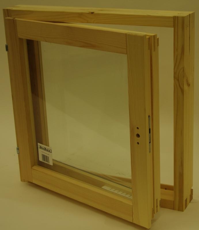 Mökki-ikkuna 6×6